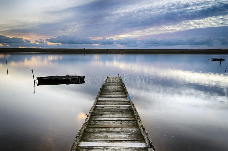 Download An Old Wooden Jetty stock image. Image of empty, pier - 33587145