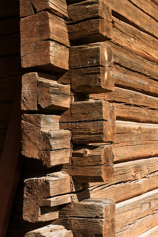 Free Old Wooden Log House Corner Stock Images - 20875144