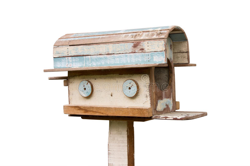 Download Old Wooden Mailbox Stock Photography - Image: 25997642