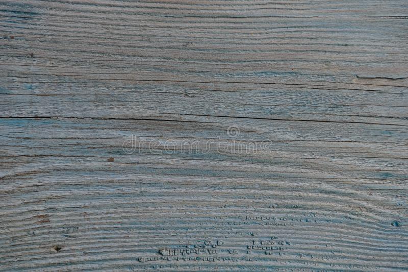Old wooden painted blue board stock photos