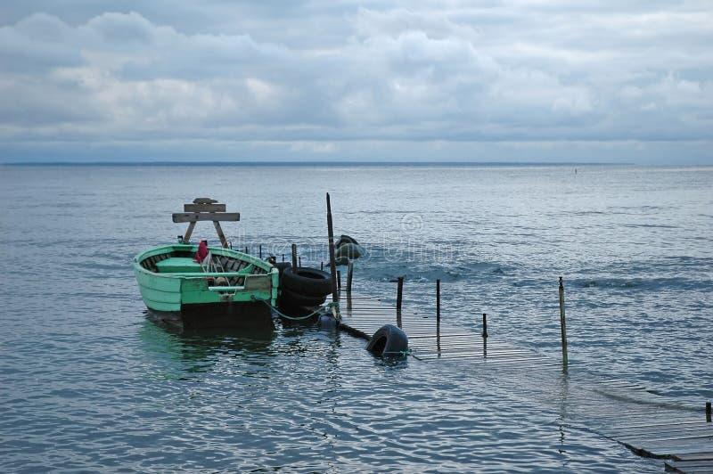 Download Old wooden pier stock image. Image of footbridge, jetty - 27603911