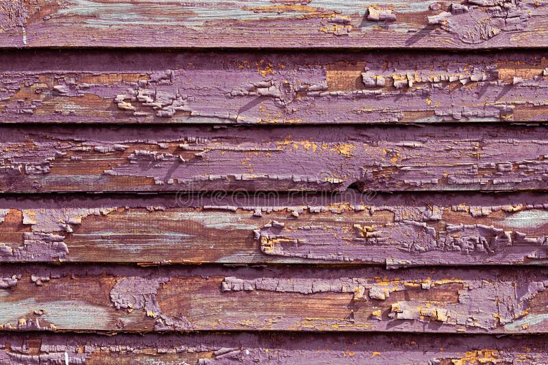 Old wooden planksh paint royalty free stock images