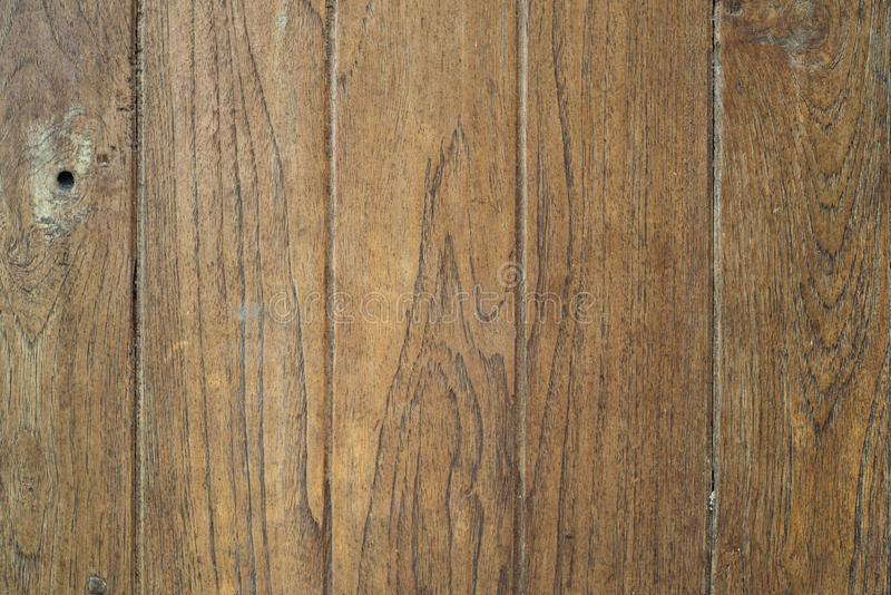 Old wooden plates have traces of time. Blur background, Old wooden plates have traces of time. Suitable for making furniture royalty free stock image