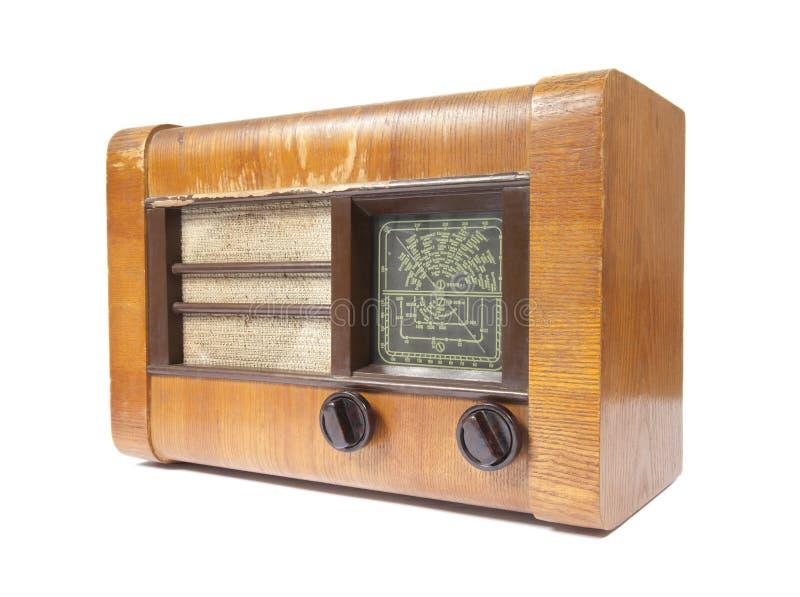 Download Old wooden radio stock photo. Image of radio, broadcast - 18034470