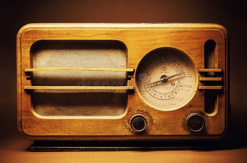 Old Wooden Radio Design stock photo. Image of device - 65836866
