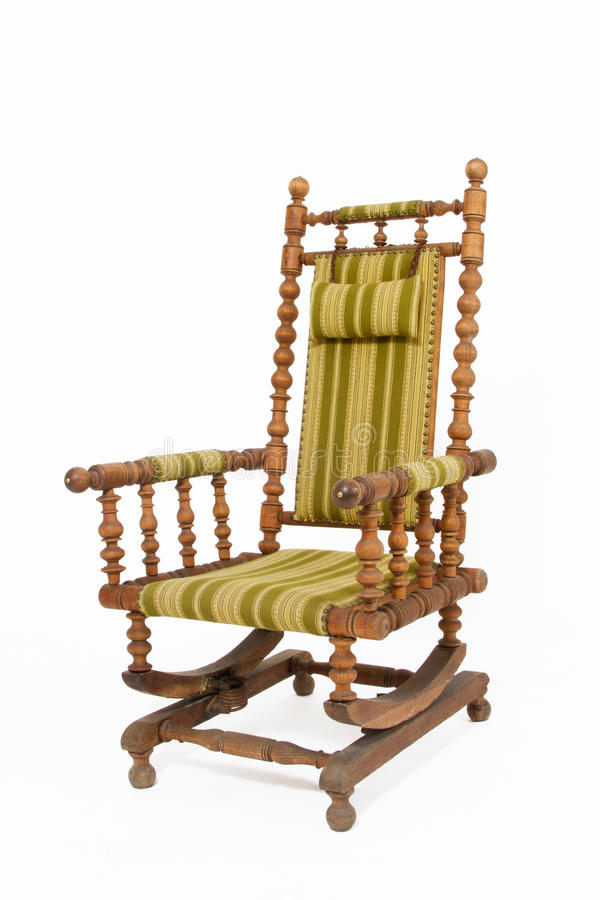 Download Old Wooden Rocking Chair Stock Photo Image Of Seat Textured