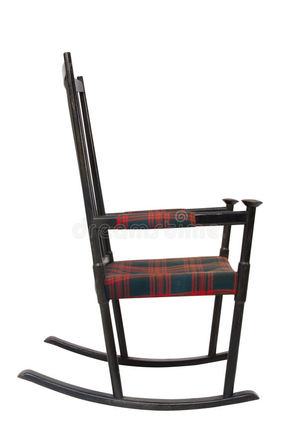 Download Old Wooden Rocking Chair Stock Image Of Canvas