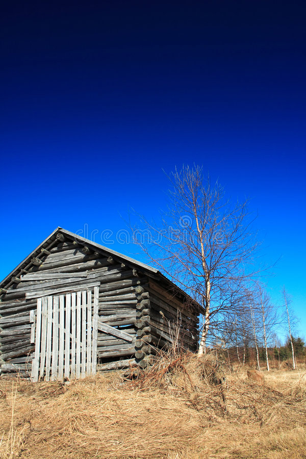 Free Old Wooden Shed Royalty Free Stock Photography - 4367147