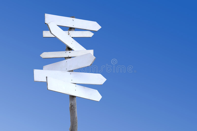 Download Old wooden signpost stock photo. Image of multiple, rustic - 6269178