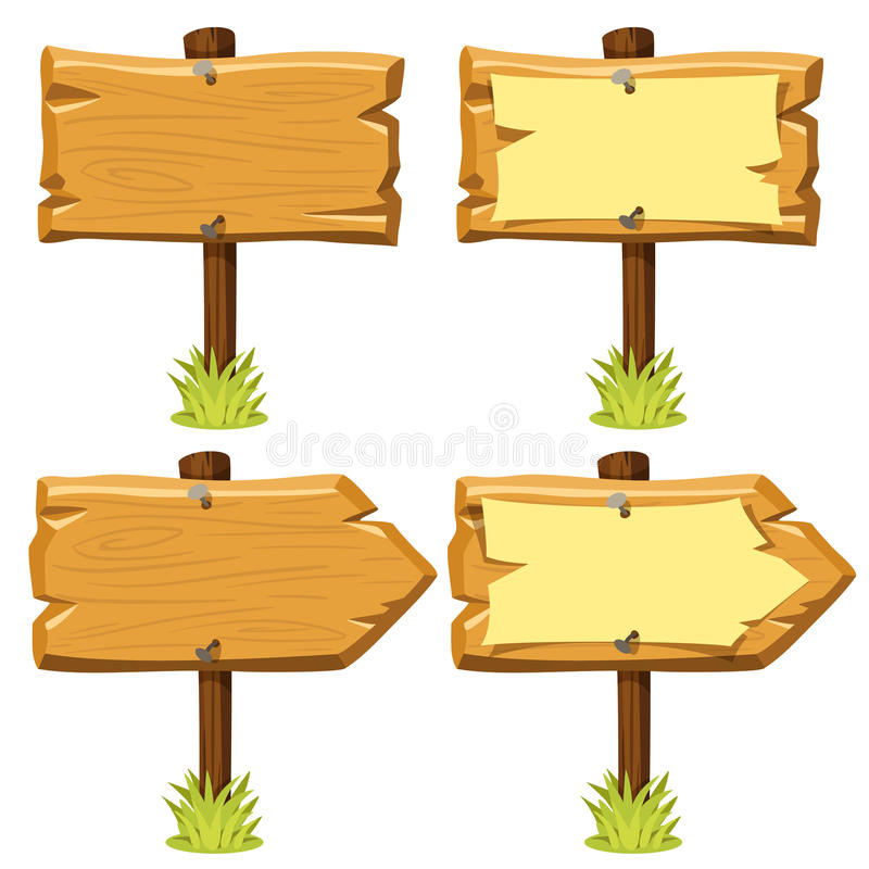 old wooden signs stock vector illustration of torn banner 66071966 rh dreamstime com wood sign vector art wood arrow sign vector