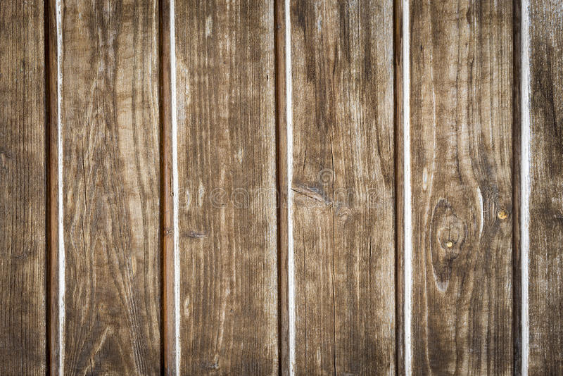 Old wooden slats with structure stock image
