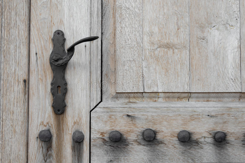 Old Wooden Vintage Gate. royalty free stock photography