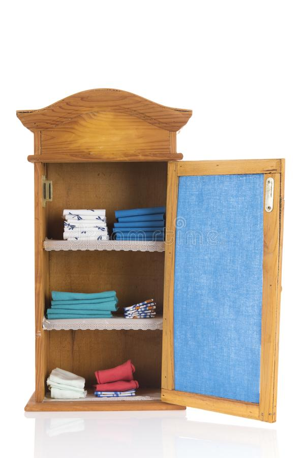 Download Vintage Cupboard Stock Image. Image Of White, Shelves   115041361