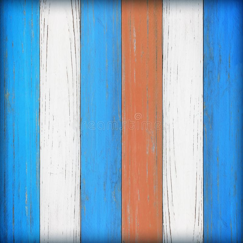Old wooden wall background or texture; Vintage wood background stock photo