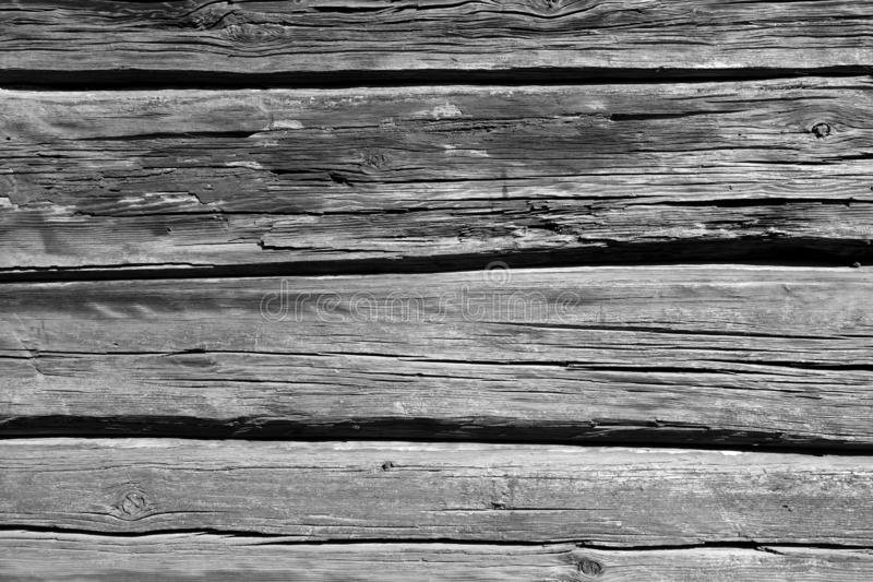 Old wooden wall in black and white. Abstract background and texture for design, grey, gray, vintage, weathered, timber, tree, carpentry, natural, painted stock photos