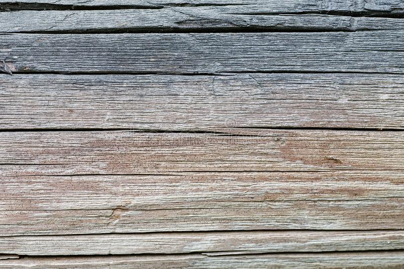 Old wooden wall fragment closeup shot, abstract texture.  royalty free stock photo