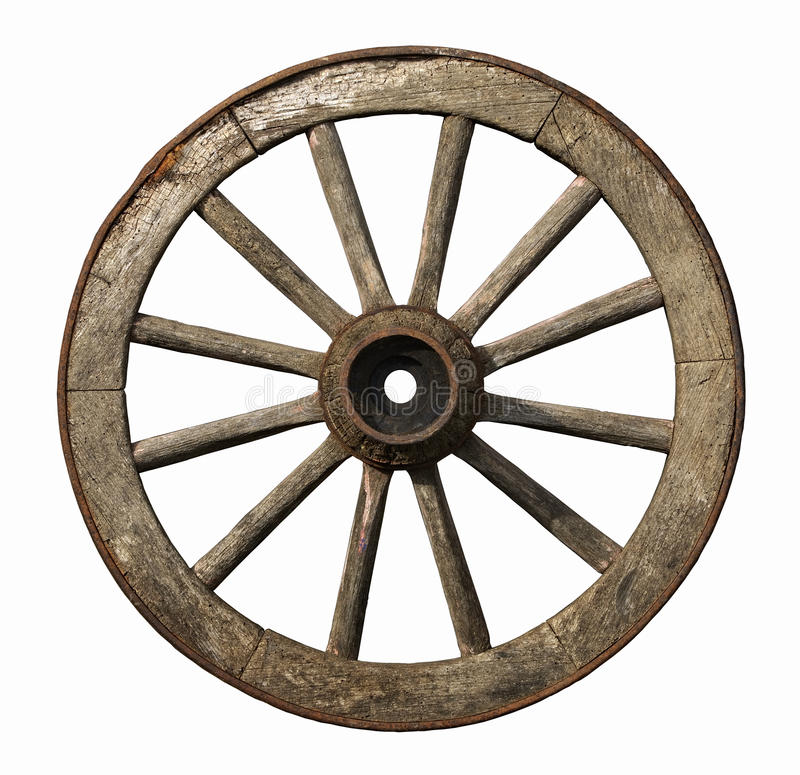 Free Old Wooden Wheel Royalty Free Stock Photos - 13165338