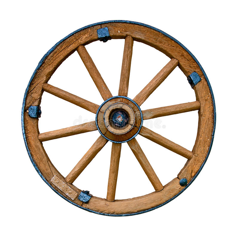 Free Old Wooden Wheel Royalty Free Stock Photo - 24499875
