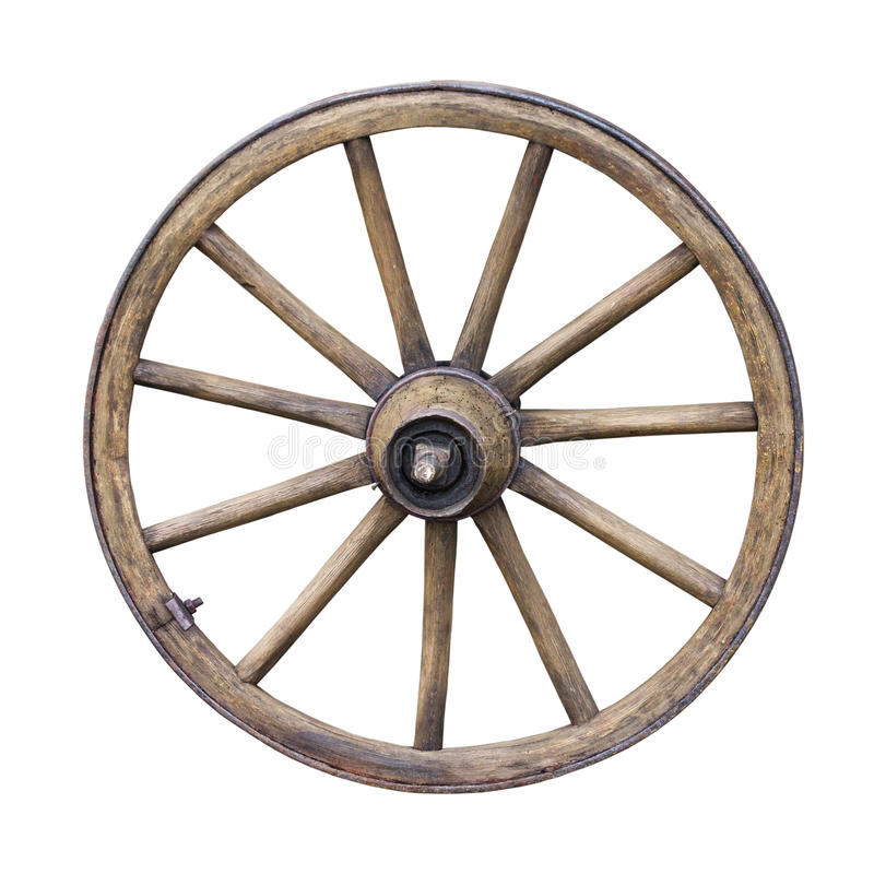 Free Old Wooden Wheel Royalty Free Stock Photo - 30296775