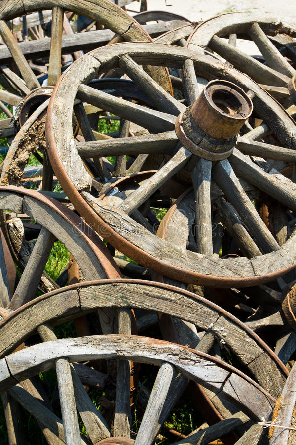 Free Old Wooden Wheels Stock Image - 20659511