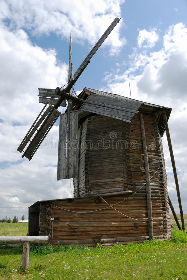 Download Old wooden windmill stock image. Image of wooden, airhead - 21150081