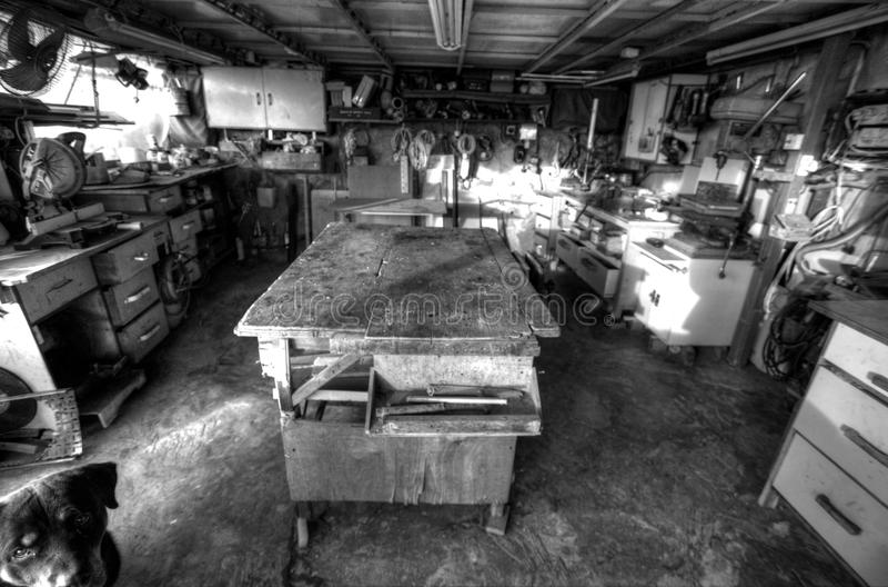 Old Workshop Royalty Free Stock Images