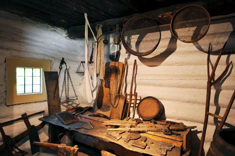 Download Old workshop stock image. Image of indoor, craft, bench - 28503703