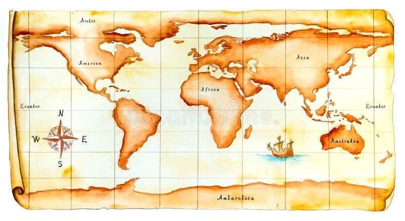 Old world map stock illustration illustration of search 5429428 download old world map stock illustration illustration of search 5429428 gumiabroncs Gallery