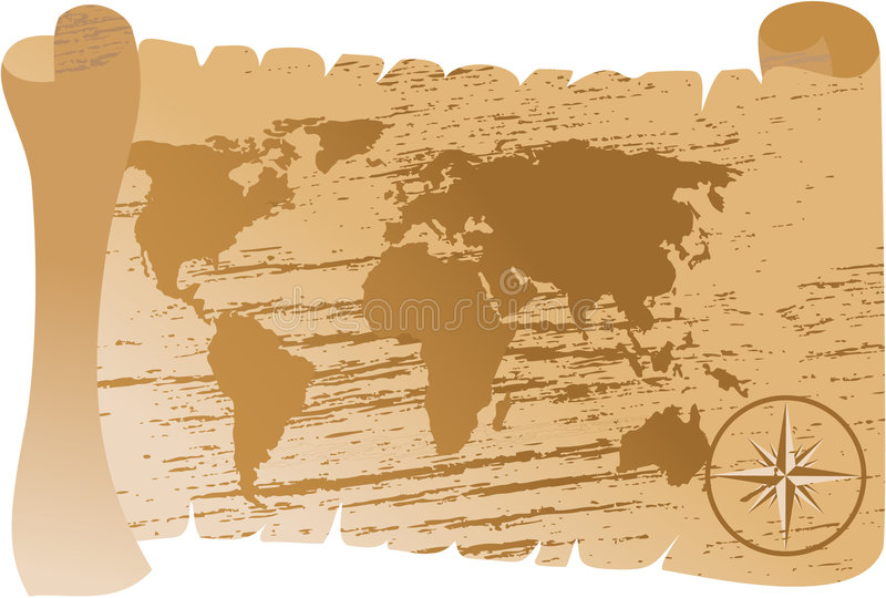 download old world map vector stock vector illustration of page 3152706