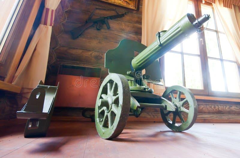 Old World War II Machine Gun Royalty Free Stock Photography
