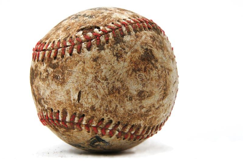 Old Worn Baseball stock photos