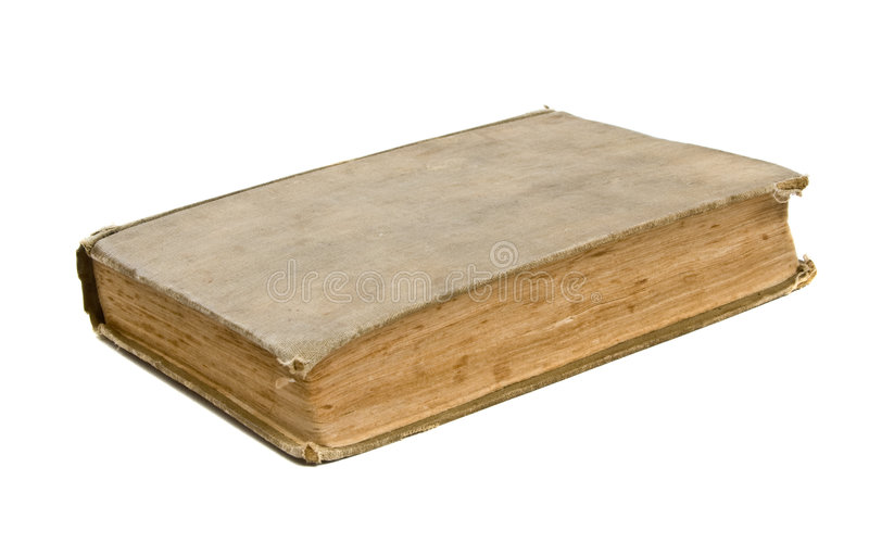 Old Worn Book stock photography