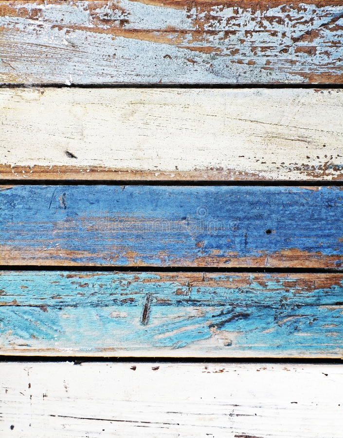 Worn Down Wooden Planks ~ Old worn down wooden colored panels stock photos image