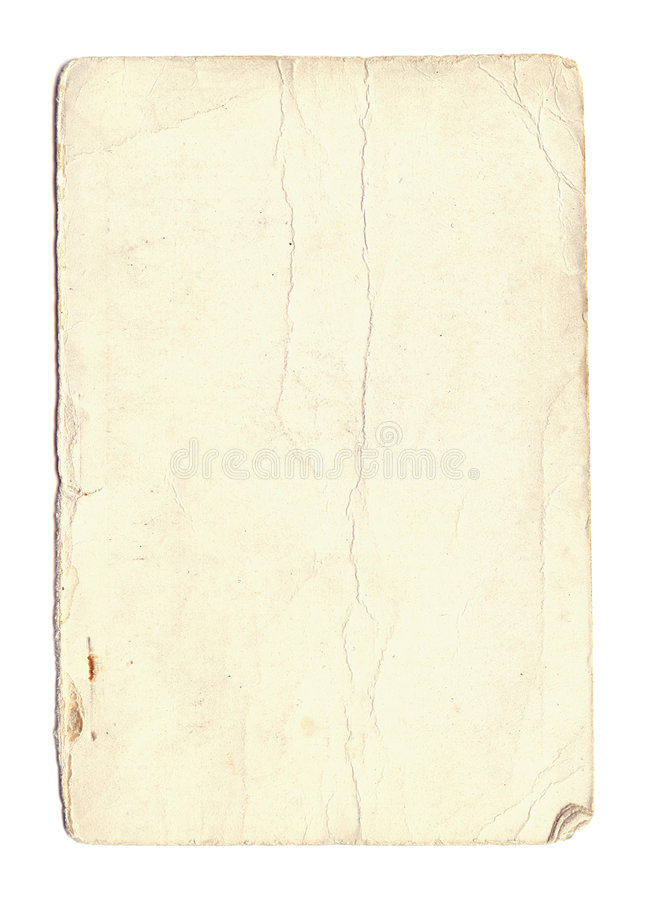 Free Old Worn Paper Stock Photo - 6240590