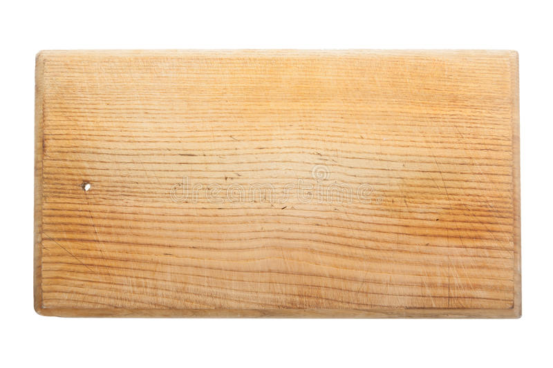 Download Old Worn And Scratched Wooden Cutting Board Stock Photo - Image: 27854278