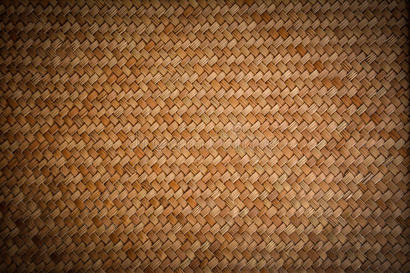 Old woven wood pattern. Lomo stock photos