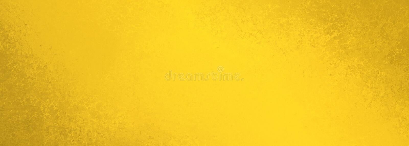 Old yellow background texture and distressed brown border grunge in vintage paper illustration stock images