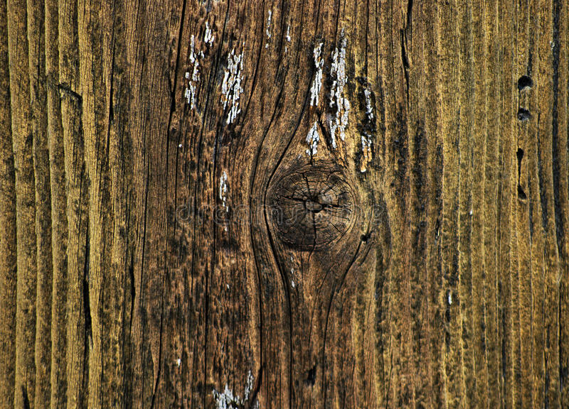 Old Yellow Painted Wood Background Stock Photo