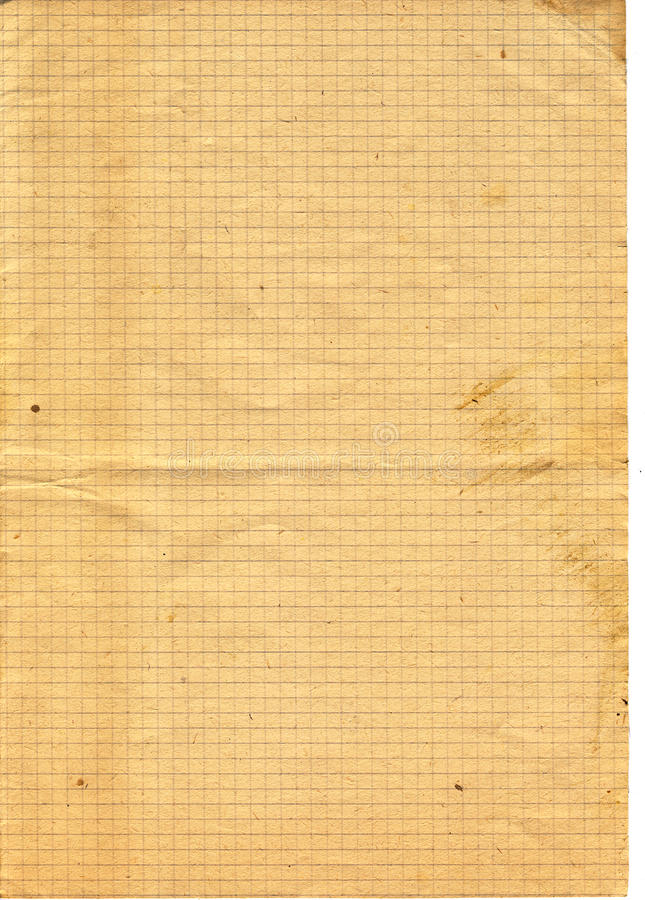 Download Old Yellow Textured Checked Paper Stock Image - Image: 20375373