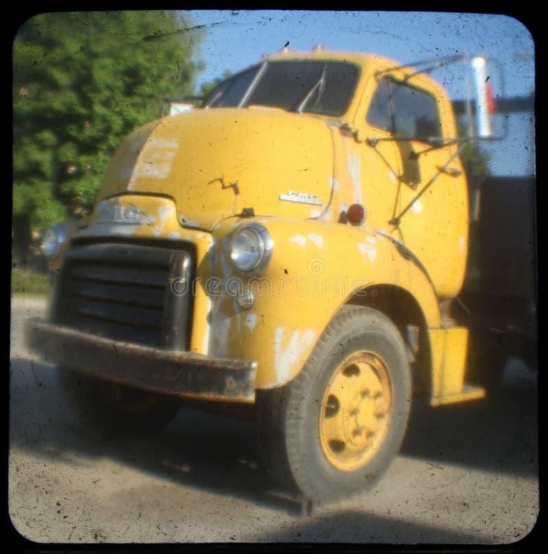 Old Yellow stock photo