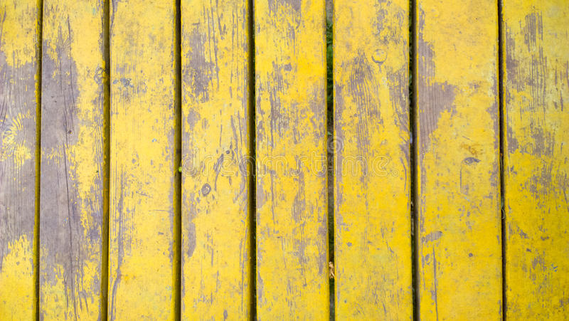 Old yellow wood planks texture. Tree background. Batten.  royalty free stock photos