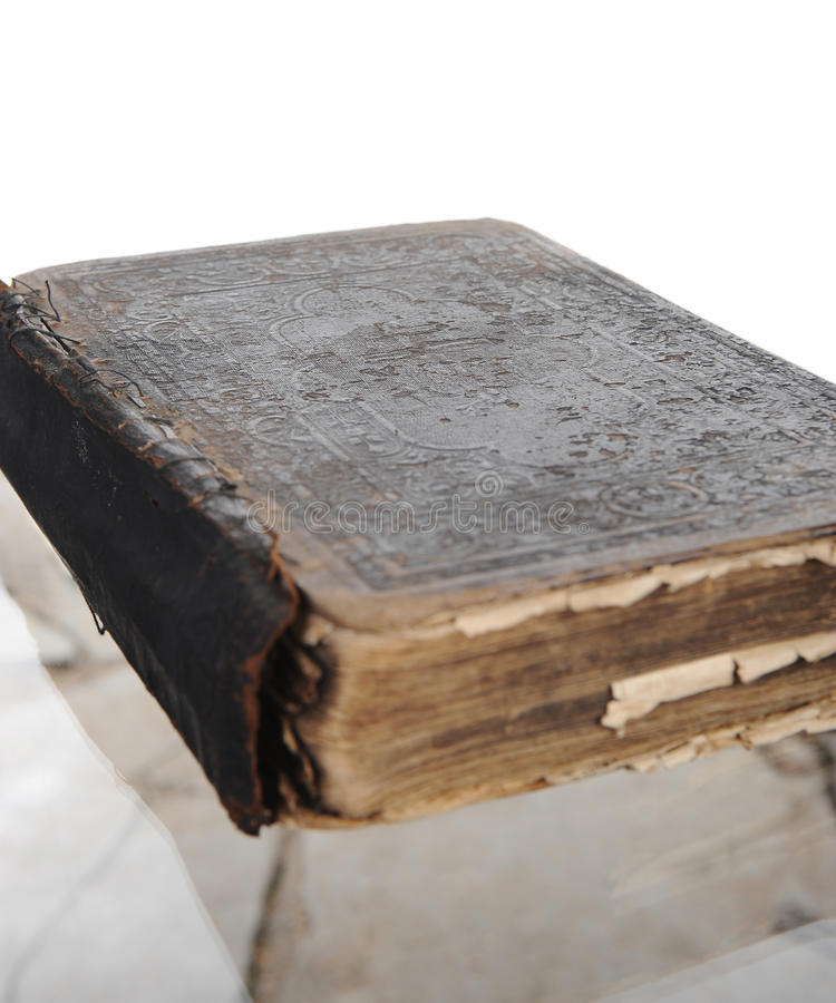 Download Old yellowed book stock photo. Image of ancient, closeup - 17355794