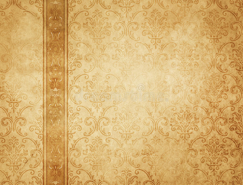 Download Old Yellowed Vintage Paper Texture Or Background Stock Photo