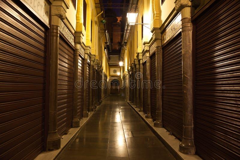 Download Old Zoco (market) Of Granada At Night Stock Image - Image: 23899111