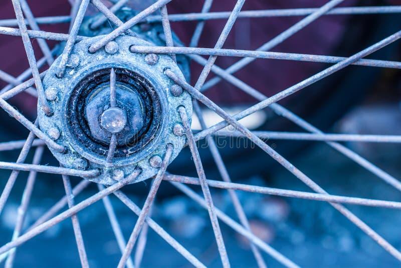 Oldbike centrum fotografia royalty free