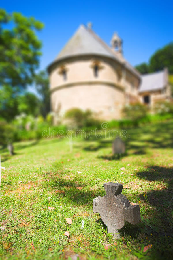 Olde-Belvedere-Kirche stockfotografie