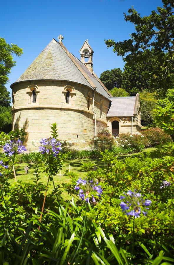 Olde-Belvedere-Kirche lizenzfreies stockbild