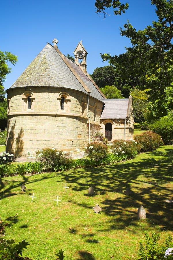 Olde belwederu kościół zdjęcie stock
