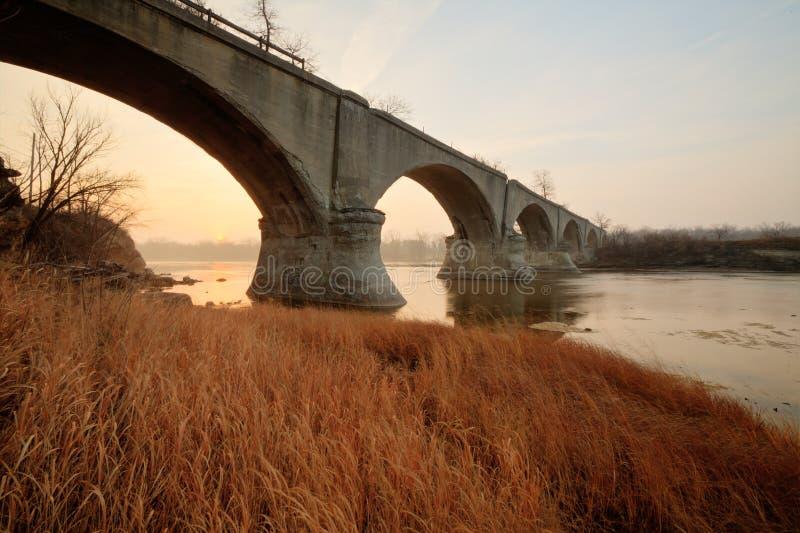 Olde Brücke stockbild