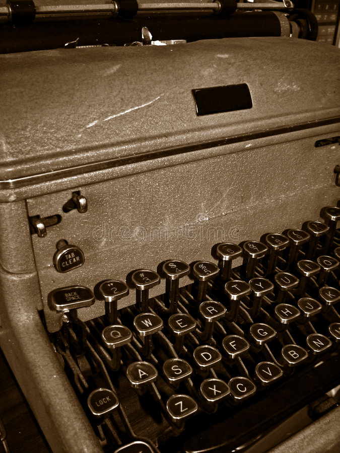 Download Old-fashioned Typewriter Stock Images - Image: 8717304